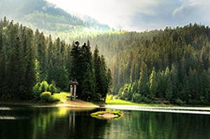 Легенда об озере Синевир