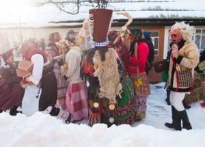 Старый Новый год в Закарпатье