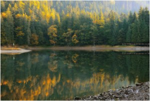 озеро синевир отдых в Карпатах