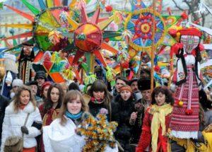 Зимние фестивали в Закарпатье