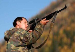 Полювання в Карпатах