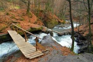 малые водопады закарпатье
